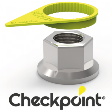 Checkpoint Wheel Nut Indicators, Yellow Arrows, Wheel Nut Tightness, For Trucks and Buses