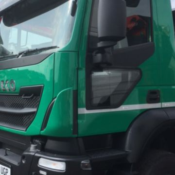 Lower Door Windows - ClearView. Passenger Side Low Level Windows for Trucks, HGV, Lorry