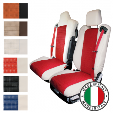 Truck Seat Covers, Leather, Fabric, Easy Wipe Clean, MAN, Volvo, Scania, Iveco, Renault, DAF, Mercedes