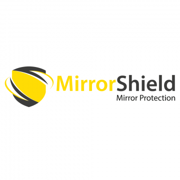 MirrorShield - Truck and Van Mirror Guards, Yellow Mirror Protectors - Super Tough and Safe Mirror Protection.