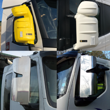 Truck Stainless Steel Mirror Guards, MirrorShield, MAN, Volvo, Scania, Iveco, Renault, DAF, Mercedes, Truck Accessories.