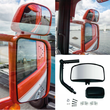 Replacement Truck Mirrors, Class VI Front View, Cyclops Mirrors, London Mirror, LED Mirrors
