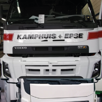 Front Name Plates, DAF LED Badge, Scania LED, MAN LED, Volvo Name Board, FH, FM, FL, FE, FMX, Front Sign, Namboards, Kuda UK