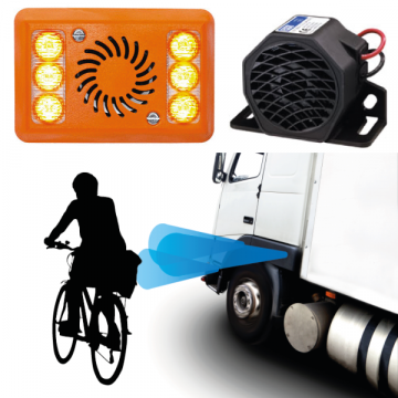 Reversing / Turn Alarms and Sensors, perfect for FORS and TFL guidelines, fitting service available.