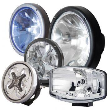 Truck 24v Spotlights, 12v spotlights, van spotlights, Hella Jumbo, LED Spotlights, Xenon Lights, Truck Spots