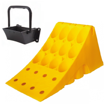 Wheel Chocks and Holders, Truck, HGV Chocks, Homologated thermoplastic at great prices