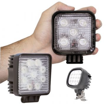 LED Work Lamps, Truck Worklamps. 12 and 24v Lamps for your vehicle.