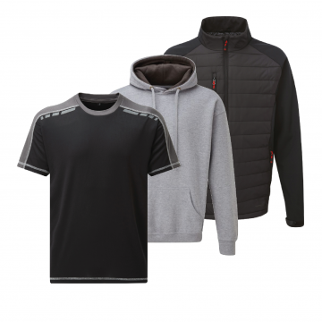 Workwear, TuffStuff Workwear in stock, Jackets, Polos, Tees, Hoodies, Super hard workwear.