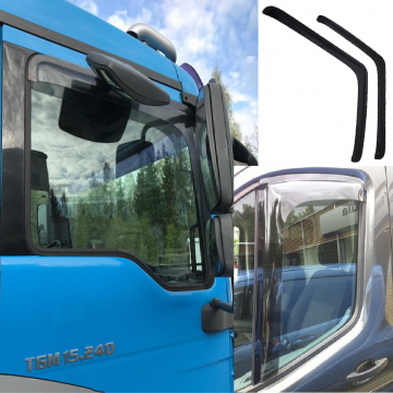 Truck Window Deflectors, Side Window Deflectors, Window Shields, Rain Guard, Wind Guards