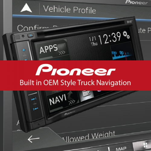Kuda Partner with Pioneer in Truck Navigation