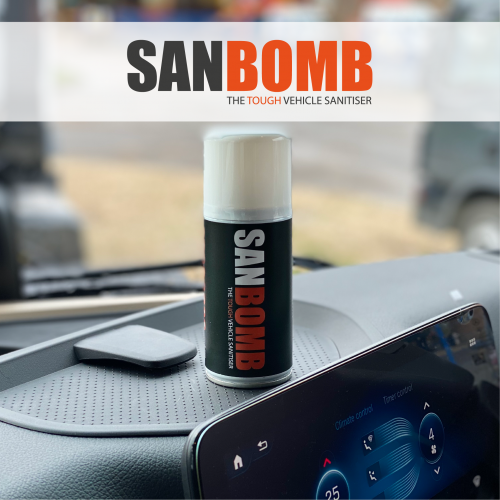 SanBomb - The tough vehicle sanitiser
