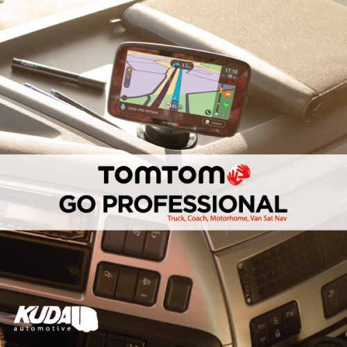 TomTom Launch GO PROFESSIONAL Sat Navs