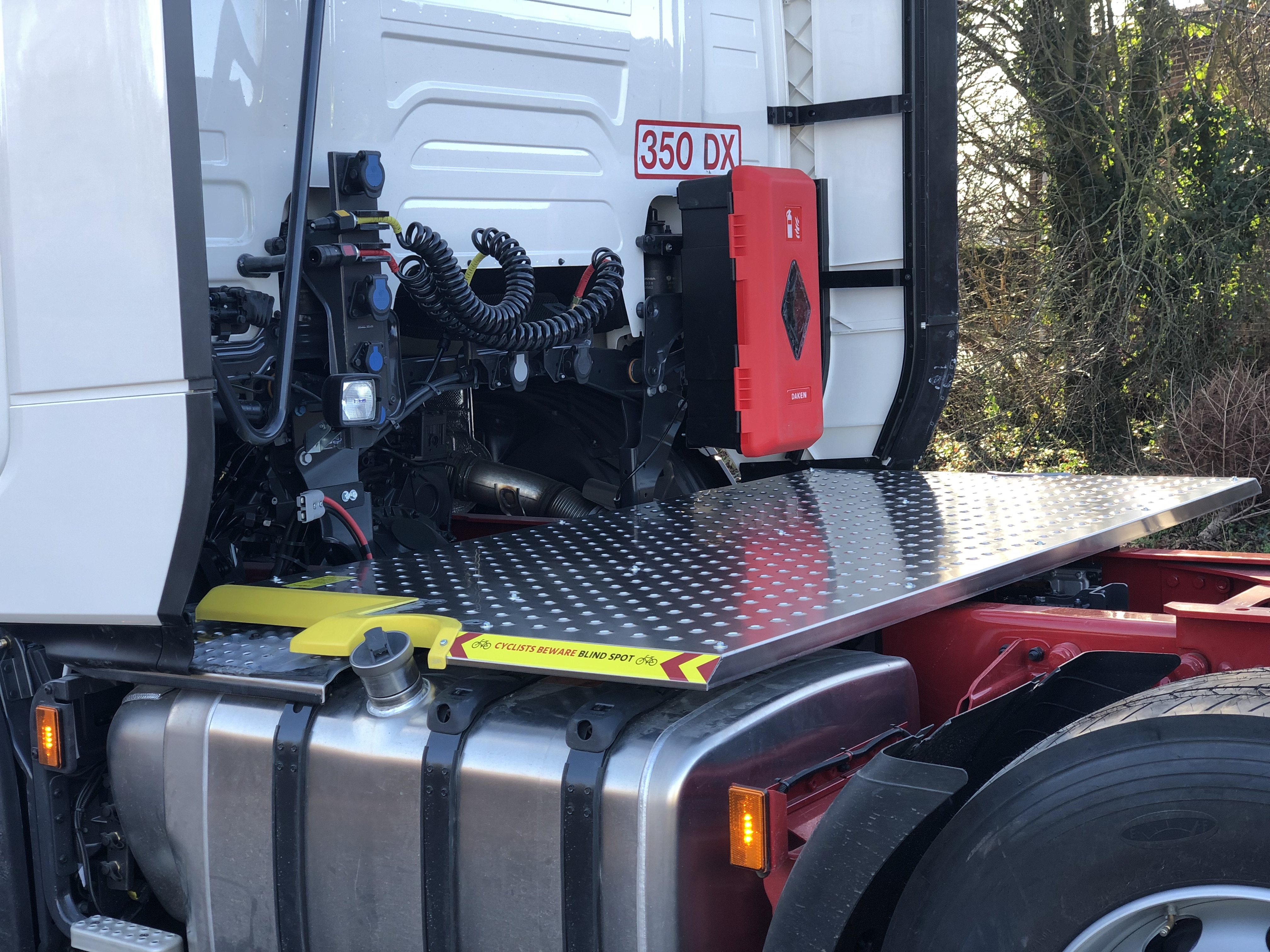 Scania Next Gen, P, G, R, S 6x2/2NA Chassis TreadSafe Safety