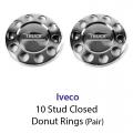 10 Stud Wheel Nut Cover Logo
