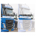 Volvo FH4 Front Name Board