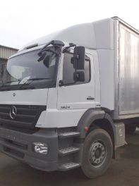 Mercedes Atego/Axor Day Adj Top Spoiler with Air Stack