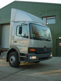 Mercedes Atego Day Cab 7.5-12 Ton Fixed Top Spoiler
