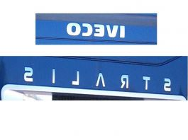 Iveco Stralis Sign Replacement