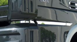 DAF XF / XF105 Stainless Door Trim