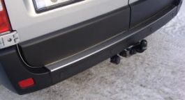 Renault Master Protective Bumper Plate. 2010 Onwards