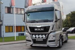 MAN TGX (Euro 6) Mini Front Light Bar. 2013 Onwards. Pre-Wired. With LED's.