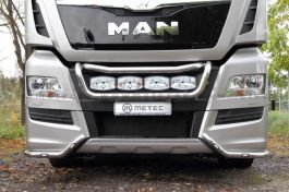 MAN TGX Corner Bumper Light Bars. Euro 6. Pre-Wired. With LED's. (Pair).