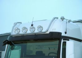 Mercedes Actros 4 GigaSpace. Roof Light Bar. 2011 Onwards. Pre-Wired. 4 Lamp Fixings.