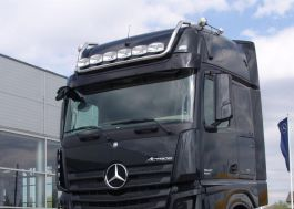 Mercedes Actros 4 GigaSpace. Roof Light Bar. 2011 Onwards. Pre-Wired. 6 Lamp Fixings.