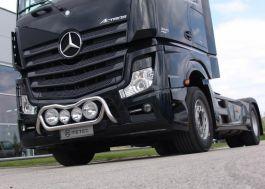 Mercedes Actros 4 Giga / Big. 2500mm. Front Light Bar. 2011 Onwards. Pre-Wired.