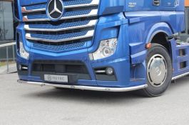 Mercedes Actros 4. Under Bumper Bar. 2011 to Late 2016. Pre-Wired. With White and Amber LED's.