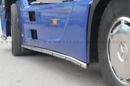 Mercedes Actros 4. Side Skirt Bars. 2011 Onwards. 4000mm. Pre-Wired. With Amber LED's. (Pair).