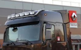 Renault T Range. High Roof Cab. Roof Light Bar. Pre-Wired. 6 Lamp Fixings.