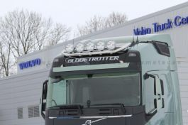 Suitable for Volvo FH 4 Roof Light Bar. 2013 Onwards. Globe and XL. Pre Wired for 5 Lamps.