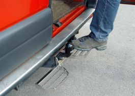 Rear Tow Bar Step Plate (600mm).