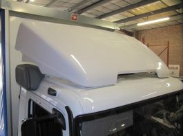 Atego/Axor DayCab Spoiler & Ears 18 ton with airstack