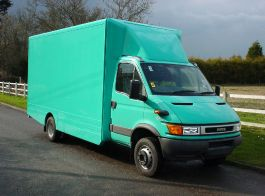Iveco Daily Fixed Top Spoiler & Collars 99-