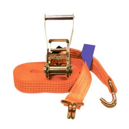9m Ratchet Strap - 5 Ton - Bright Orange