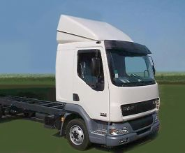 Renault Midlum Low Roof Slp Adj Spoiler & Base