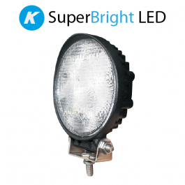 Kuda SuperBright Round LED Worklamp 12/24v.