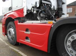 Mercedes Actros 4 / 5, 6x2 Side Skirts to suit 450 Litre Tank.