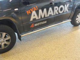 VW Amarok Side Pipes