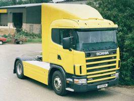 Scania 4 series Slp Fixed Top Spoiler
