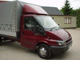 Ford Transit Adjustable Spoiler and base. 2000-