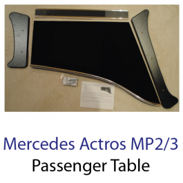 Mercedes Actros MP2/3 Passenger Table
