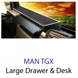 MAN TGX Large with Extention Desk and Drawer Drivers Table