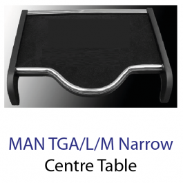 MAN TGA Narrow Driver Cab; TGL; TGM Centre Drivers Table