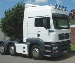 MAN TGA/TGS L Cab High Roof Conversion