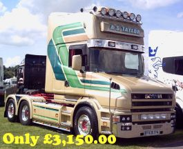 Scania T Cab High Roof Conversion