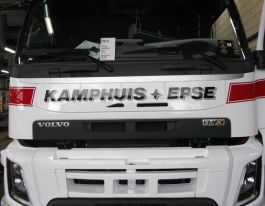 Suitable for Volvo FM/FMX (Ver. 4) Front Name Board.