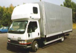 Canter (Wide cab) Sleeper Pod